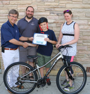Joe Barberi and Moritz Richter Barberi Law Bikes for Kids