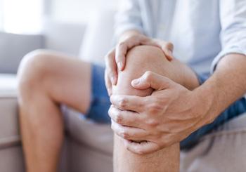 minnesota car accident knee pain