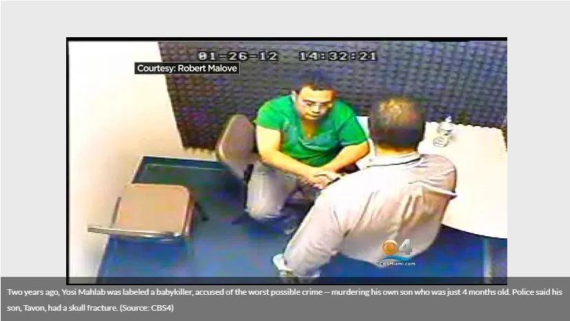 interrogation room video feed