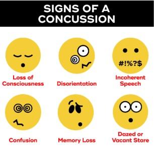 concussion chart
