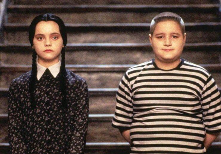 Wednesday and Pugsley Addams