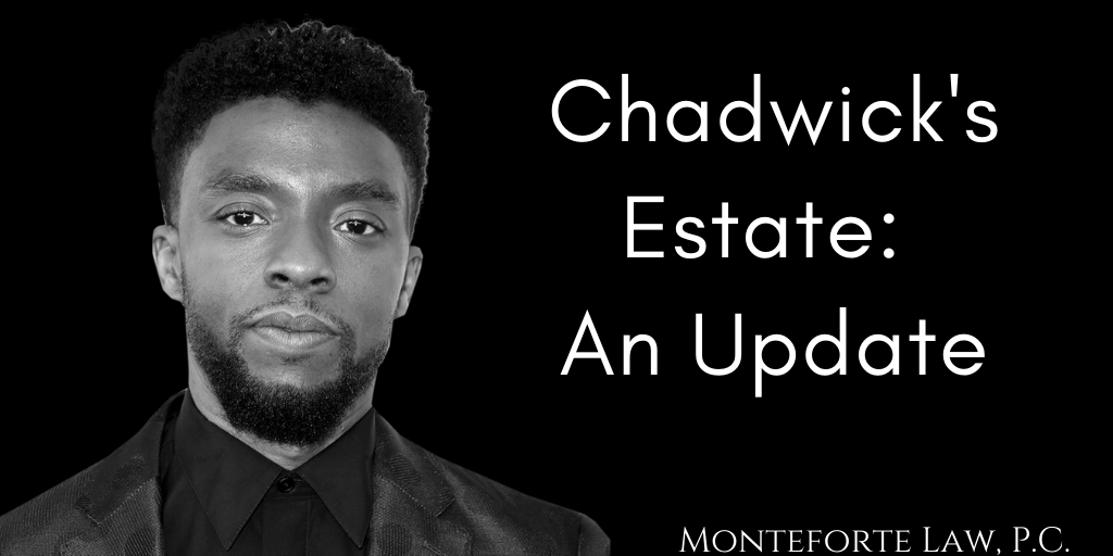 Chadwick Boseman Estate Update