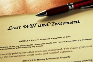 Having a will as part of an estate plan