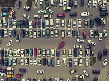 Fender bender in busy Atlanta parking lot can lead to shared liability cases