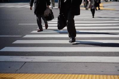 Georgia Pedestrians in a crosswalk