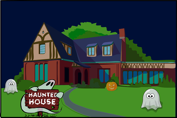 haunted house Van Sant Law