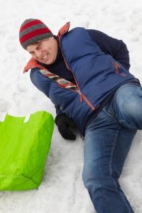 Slip and Fall on the snow and ice