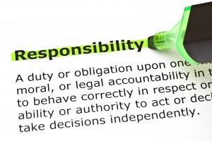who bears responsibility for premises' accidents
