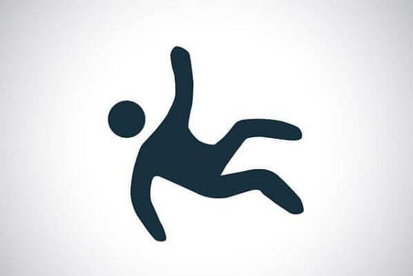 Symbol of a Man Falling Van Sant Law