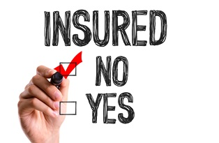 No health insurance for car crash