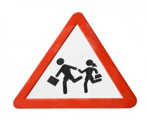 GA School Safety Road Sign
