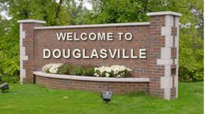 Welcome to Douglasville Sign