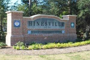 Hinesville Town Sign