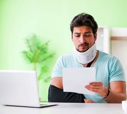 paying bills after motorcycle accident