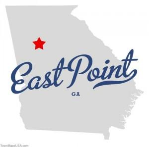 Map of East Point, Georgia