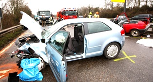 Multi-vehicle crash cases
