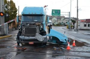 semi-truck accident