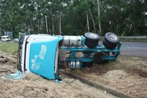 truck accident after no maintenance