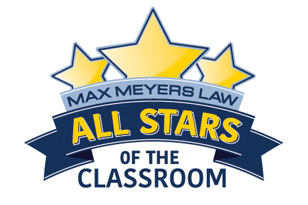 Max Meyers Law All Stars of the Classroom Award