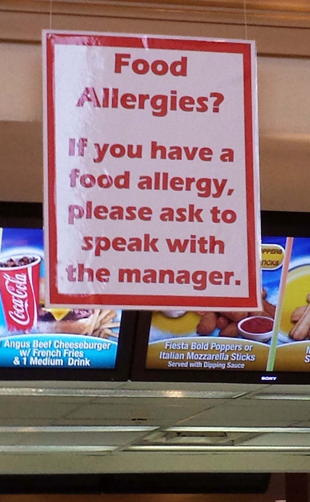 PA NJ peanut food allergy lawyer
