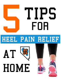 Choose good shoes to relieve heel pain