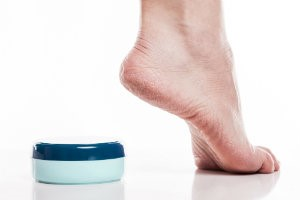 Use lotion to refresh and soften feet