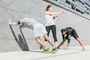 Stretching for a better workout