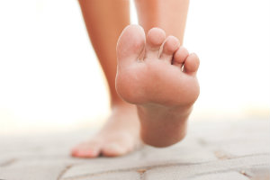 Check your feet for ulcers