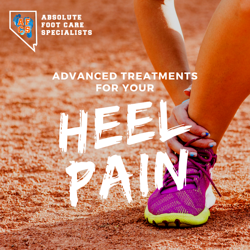 Advanced Treatments for you Heel Pain