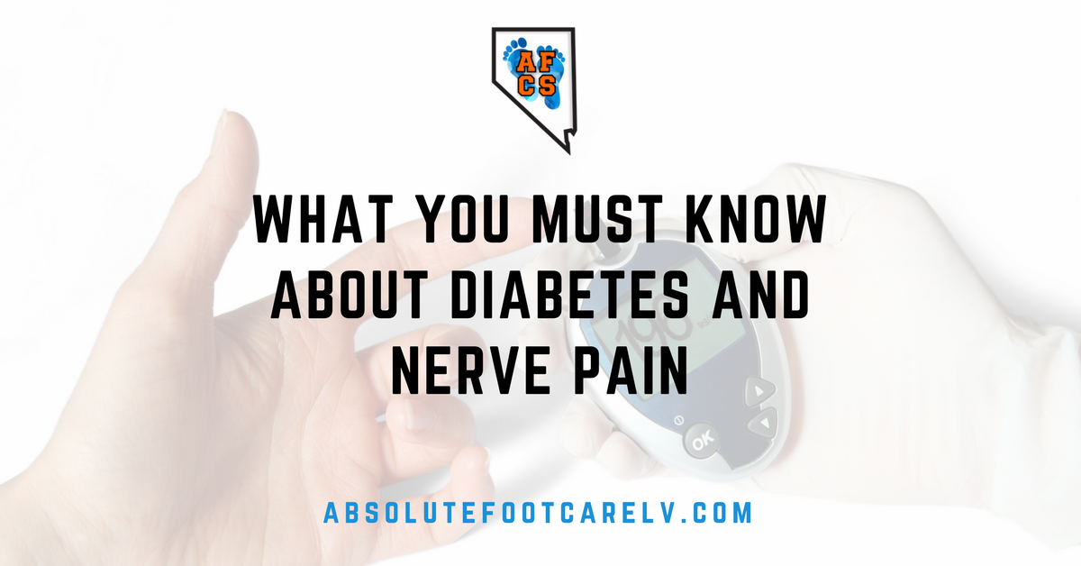 diabetes and nerve pain