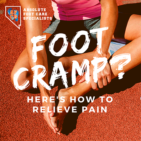 What to do if you have a foot cramp