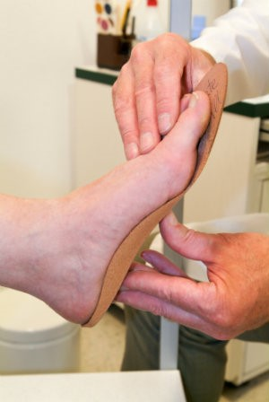 Custom orthotics can help reduce pain in feet, and even knees, hips, and back.