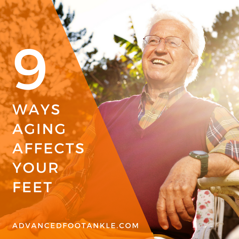 Foot Conditions in Aging Feet
