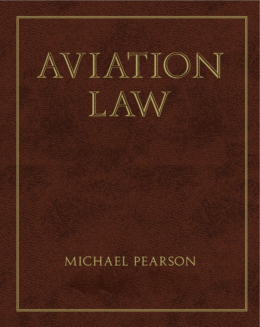 Aviation Law text