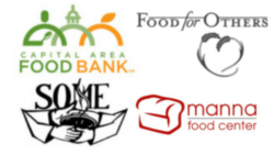 Food Bank Logo, an Armored Cloud Community Partner