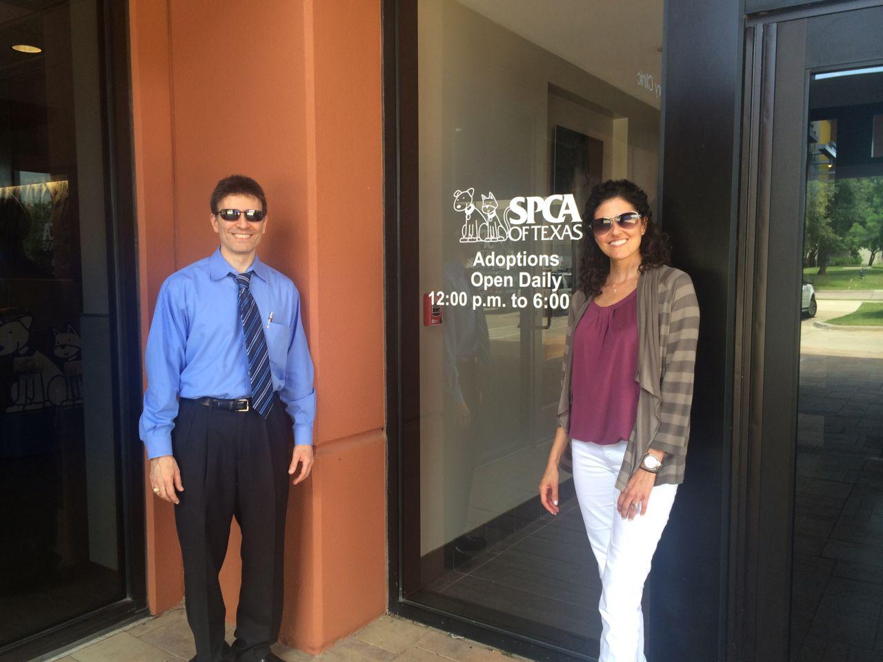 Gary Ashmore Lori Ashmore Peters Attorneys SPCA of Texas