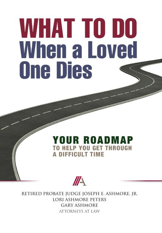 What to do when a loved one dies book, Probate Attorney