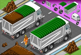 Beware the road risks caused by dump trucks and garbage trucks