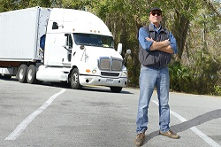 Truck drivers must follow strict regulations to make sure they're alert at the wheel