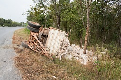It takes years of experience to determine the cause of a trucking accident