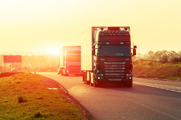 Truckers and liability of co-drivers