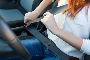 Buckle up your seat belt every time you are riding in a car