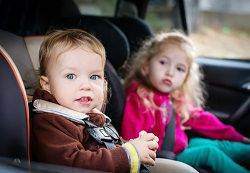 For safety's sake, make sure your kids are secure in the proper car seats