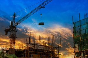 Construction site cranes can cause serious or fatal workplace accidents