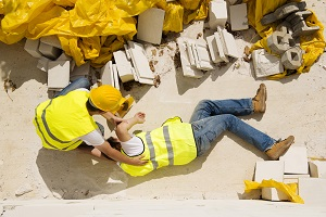 Construction sites are often the scene for a variety of severe work injuries