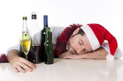 Drunk driving accidents happen more often during major holidays