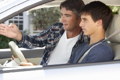 Spend some time with your teenager to share your driving experience