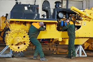 Poor maintenance or faulty design can cause a heavy machinery accident