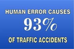 Nhtsa Car Accident  Percent Human Error