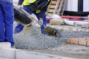 Working with concrete makes a construction site uniquely hazardous